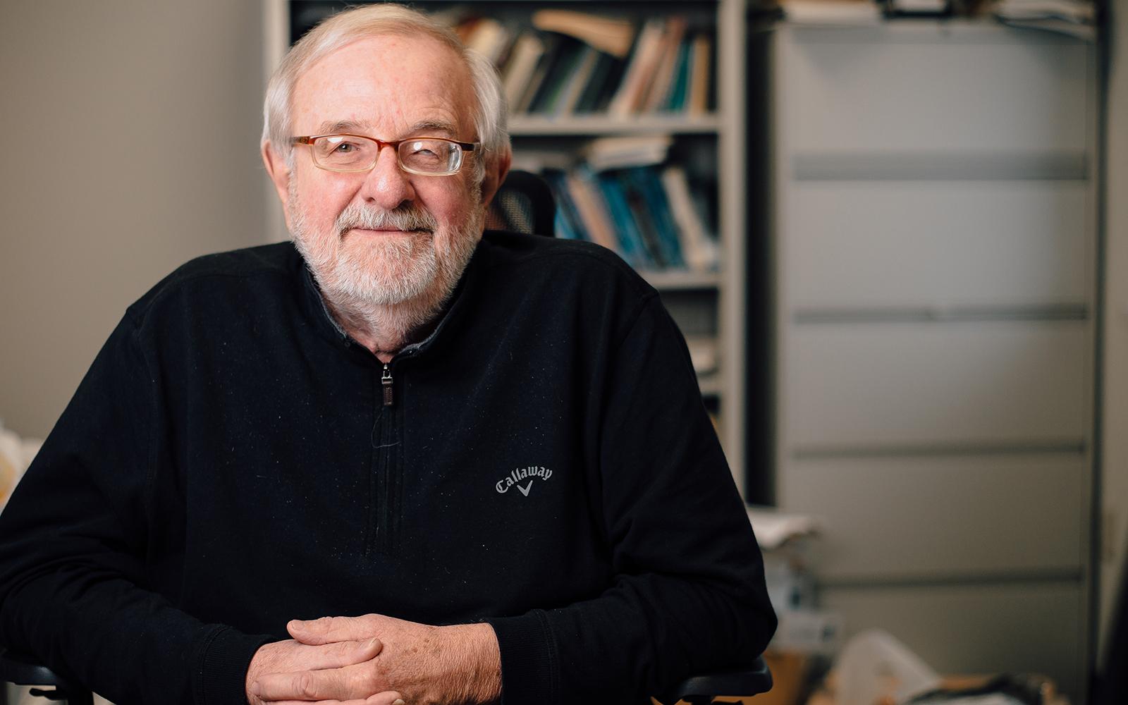 Professor James Marsden (Nathan Oldham/UConn School of Business)