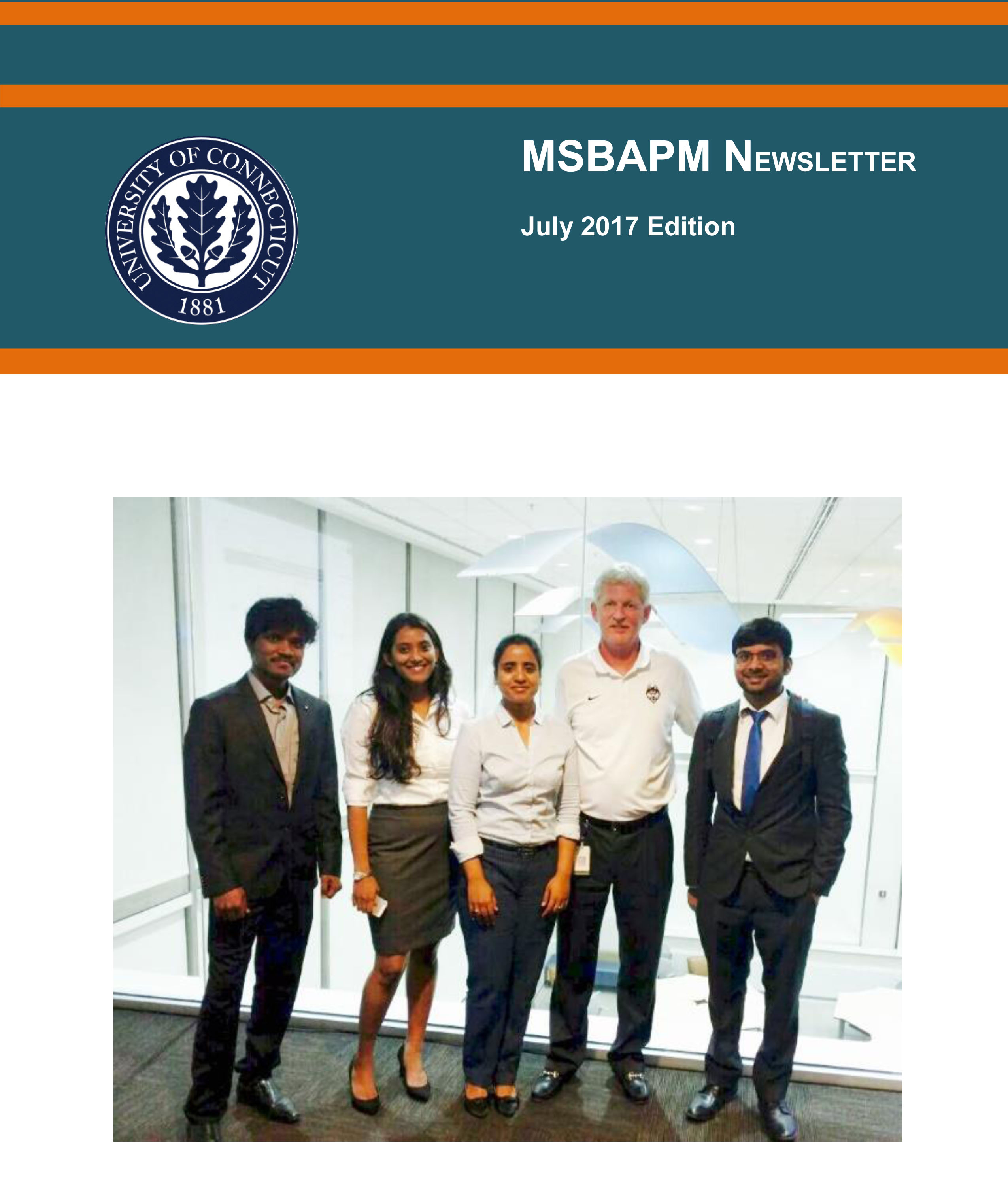 MSBAPM July 2017 Newsletter