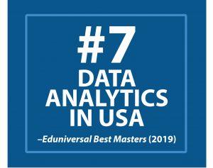 #7 Data Analytics in USA, Eduniversal Best Masters 2019