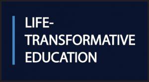 Life-transformative education