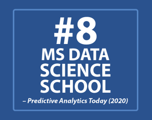 UConn MSBA #8 MS Data Science School Ranking 2020 Predictive Analytics