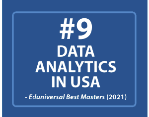 UConn MS Business Analytics and Project Management ranked Top 10 in USA Data Analytics Eduniversal Best Masters